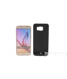 """4200mAh"" Rechargeable External Battery Back Case for Samsung Galaxy S6"