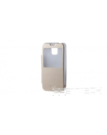 3800mAh Power Bank Smart Flip-Open Case for Samsung Galaxy S5 i9600