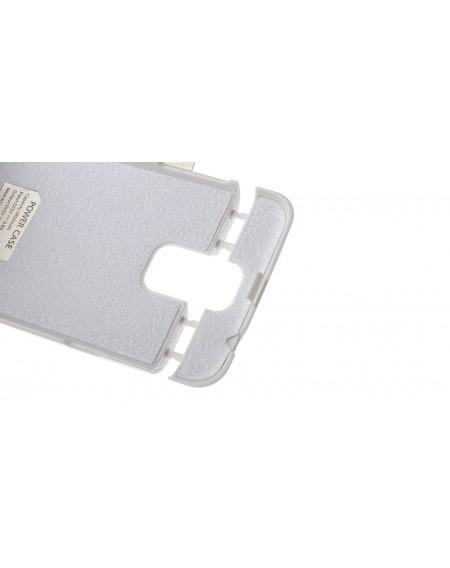 3800mAh Power Bank Smart Flip-Open Case for Samsung Galaxy S5 i9600