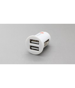 2A Dual USB Car Cigarette Lighter Charger Adapter