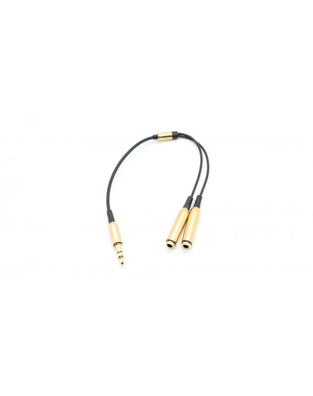 3.5mm Male to Dual Female Audio Split Adapter Cable