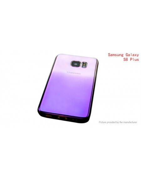 Gradient Color Protective Back Case Cover for Samsung Galaxy S8+