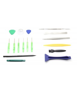 BEST 602 17 Pieces Chrome-Vanadium Steel Disassembling Tools Kit