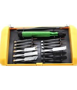 BEST 302 14 Pieces Chrome-Vanadium Steel Disassembling Tools Kit